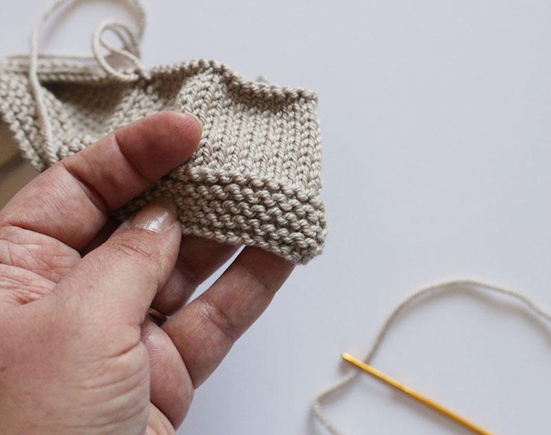 comment faire un surjet simple tricot lyon