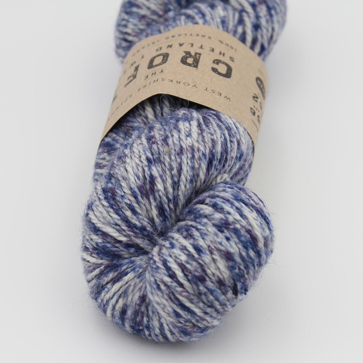 """Sanderson coussin couverture Angel fougères 100/% coton bleu indigo Maycott 16 /""""x 16/"""""""