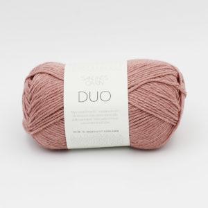Pelote de Duo de Sandnes Garn coloris Rose Poudre