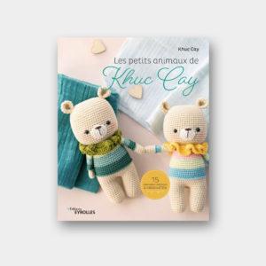 Présentation de la couverture du livre Les Petits Animaux de Khuc Cay aux éditions Eyrolles