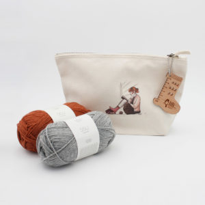 Pochette Imprimée et Kit Chaussettes Marion Em