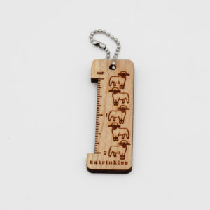 Katrinkles – Wooden Mini-Ruler – Sheep