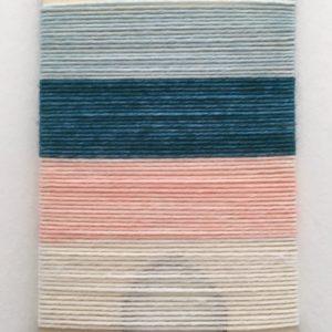 Echantillon paresseux de la laine à chaussettes auto-rayante du Bruit des Aiguilles coloris Chaque Seconde, Chaque Minute
